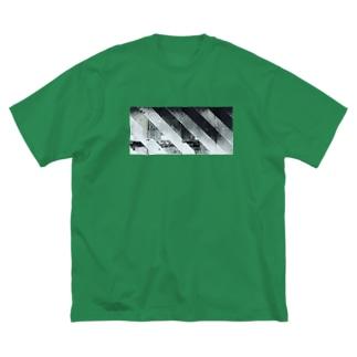 プラットホーム Big silhouette T-shirts