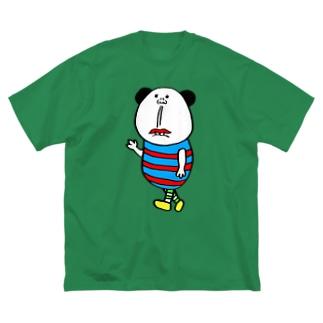 としのぶ君 Big silhouette T-shirts