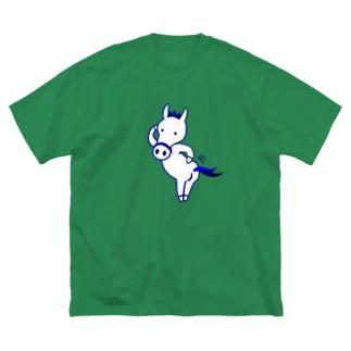 ゆるオグサン いいトモ〜! Big silhouette T-shirts