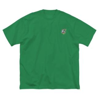 👑凪🍪の神々の系譜『ジュビ』 Big silhouette T-shirts
