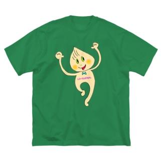 しょーろんぽぽんchan×クラシカルチュパカブラTシャツ Big silhouette T-shirts