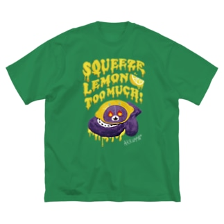 Le:MONSTER Big silhouette T-shirts