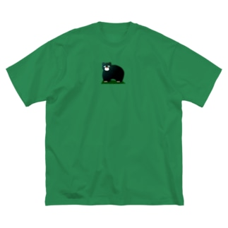 クマ Big silhouette T-shirts