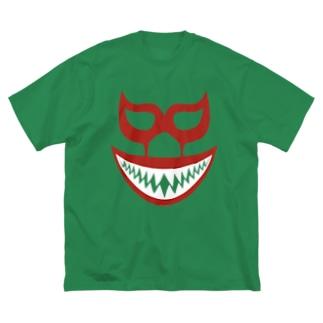 DRIPPEDのMIL MASCARAS SHARK MASK Big silhouette T-shirts