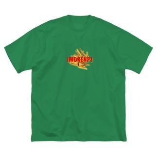 IMOKENPI Big silhouette T-shirts