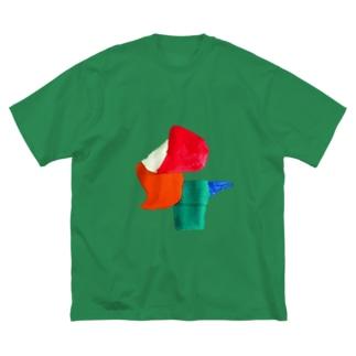 めくるめく1月 Big silhouette T-shirts