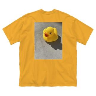 猫ちゃん Big silhouette T-shirts