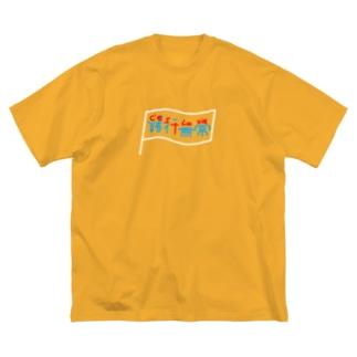 C'est la vie × 諸行無常 Big silhouette T-shirts