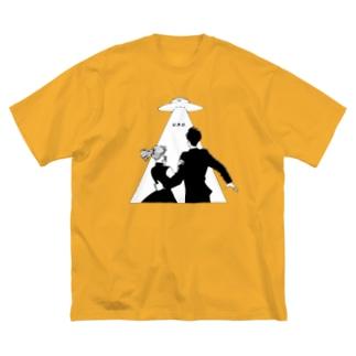 U.F.O. (前面) Big silhouette T-shirts