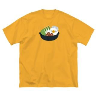 ミズタキ(⁰⊖⁰)esa Big silhouette T-shirts