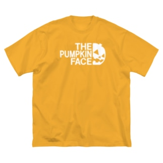 THE PUMPKIN FACE ザ・パンプキン・フェイス 2020年ハロウィン向け Big silhouette T-shirts