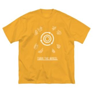 ろくろを回す (W) Big silhouette T-shirts