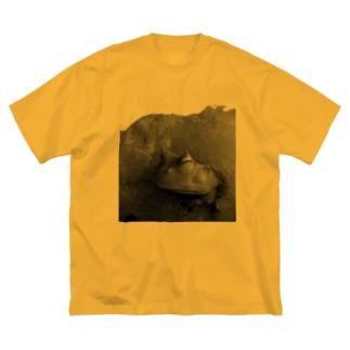 巌窟王の蛙 Big silhouette T-shirts