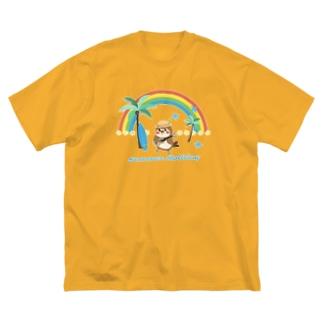 だいきち(サマホリ)2020 Big silhouette T-shirts