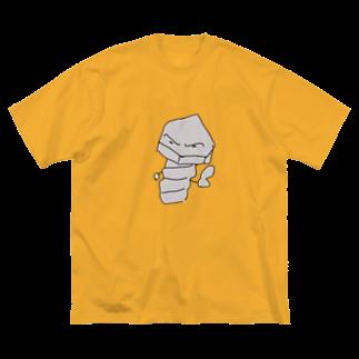 monozuki.clubのボルトくん Big silhouette T-shirts