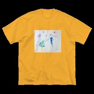 あかね2の宇宙の恋人 Big silhouette T-shirts