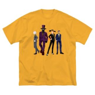 VIRTUALGANG 83ファミリーシャツ Big silhouette T-shirts