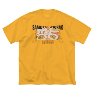 Kung pao noodleクンパオチキンヌードル Big silhouette T-shirts