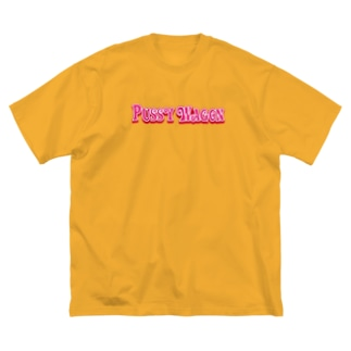 stereovisionのPUSSY WAGON Big silhouette T-shirts
