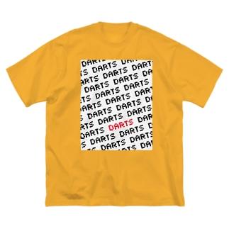 DARTS (ドット) Big silhouette T-shirts