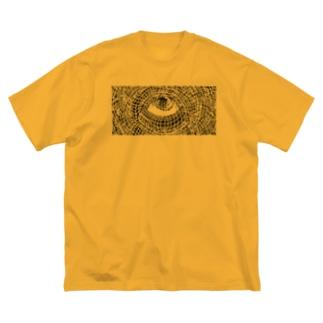 Nozoki Karakuri Big silhouette T-shirts