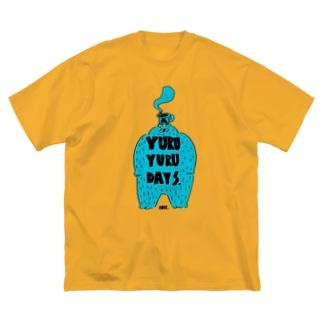 ブルーブルー Big Silhouette T-Shirt