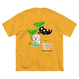 ネコ兄弟 tXTC_49 Big silhouette T-shirts