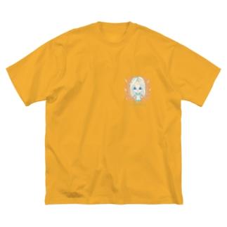 Pleiadian(プレアデス星人) Big silhouette T-shirts