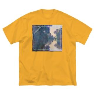 セーヌ河の朝remix Big silhouette T-shirts