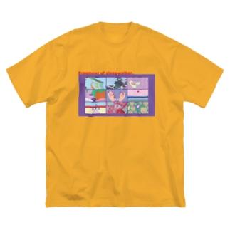 Fragment of sleepwalker Big silhouette T-shirts