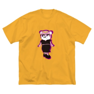 Iii.storeのTappyz ─ダリア─ Big silhouette T-shirts