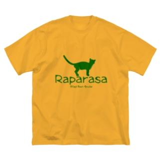 Raparasa Logo Big silhouette T-shirts