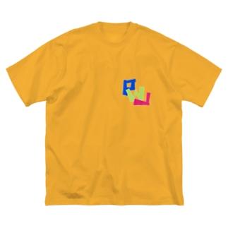 PWL ロゴスタンダード#4 Big silhouette T-shirts