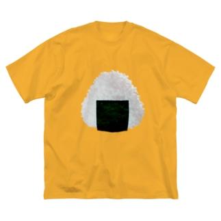 おにぎり2020 Big silhouette T-shirts