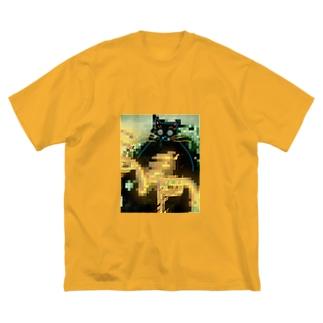 ズズ Big silhouette T-shirts