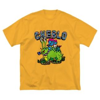 CHEBLO'S Big silhouette T-shirts