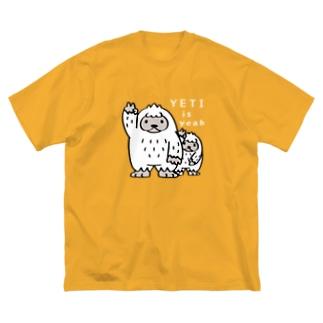 *suzuriDeMonyaa.tag*のCT94 YETI is yeah*B4000 Big silhouette T-shirts