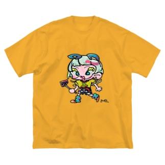 ギンギンくん Big silhouette T-shirts
