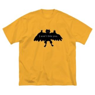 怪物B Big silhouette T-shirts