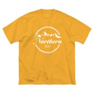 ノー残業デー Big silhouette T-shirts