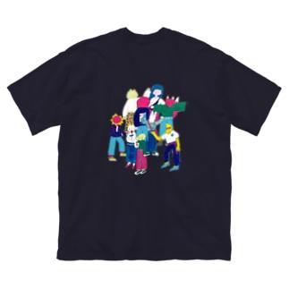 オシャレだいすき Big silhouette T-shirts
