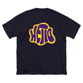 ハロー Big silhouette T-shirts