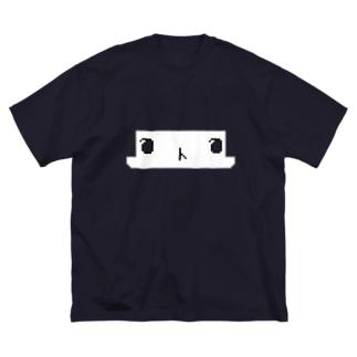 ドットルル Big silhouette T-shirts