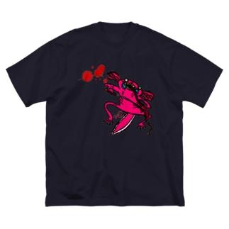 ああ Big silhouette T-shirts