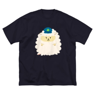 警察官シープ Big Silhouette T-Shirt