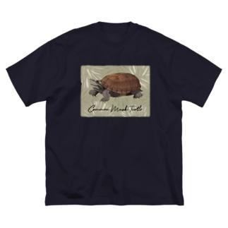 ミシニさん Big silhouette T-shirts