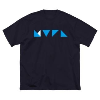 謎記号グッズ Big silhouette T-shirts