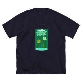 ポメソーダ・C Big silhouette T-shirts