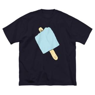 幸運のわたくし Big silhouette T-shirts