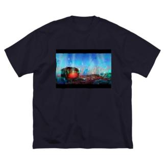nostalgia Big silhouette T-shirts
